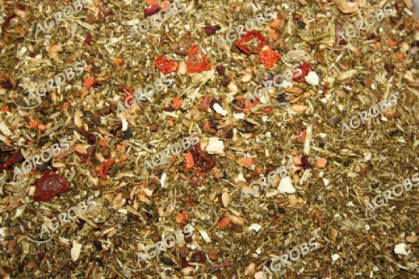 Agrobs Alpen Gruen Mash (kruiden slobber melasse vrij) 15 kg-106