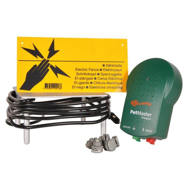 M10 Starter kit (schrikdraadapparaat + accesoires)-0