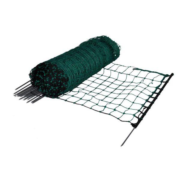 Konijnen-/hobbynet, groen, 65cm (enkele pen)-0